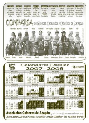 Calandario 2007