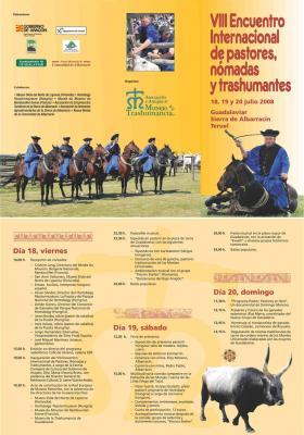 VIII Encuentro Internacional de pastores, nómadas y trashumantes