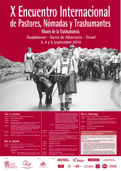 X Encuentro Interncional de Pastores, Nómadas y Trashumantes