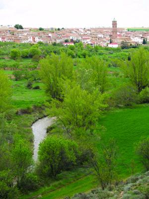 Vista de Plenas, mayo de 2007