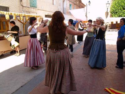 Bailando en Moyuela