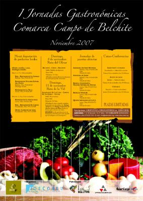 I Jornadas Gastronómicas Comarca Campo de Belchite