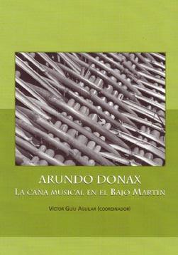 Presentación del libro ARUNDO DONAX. La caña musical en el Bajo Martín